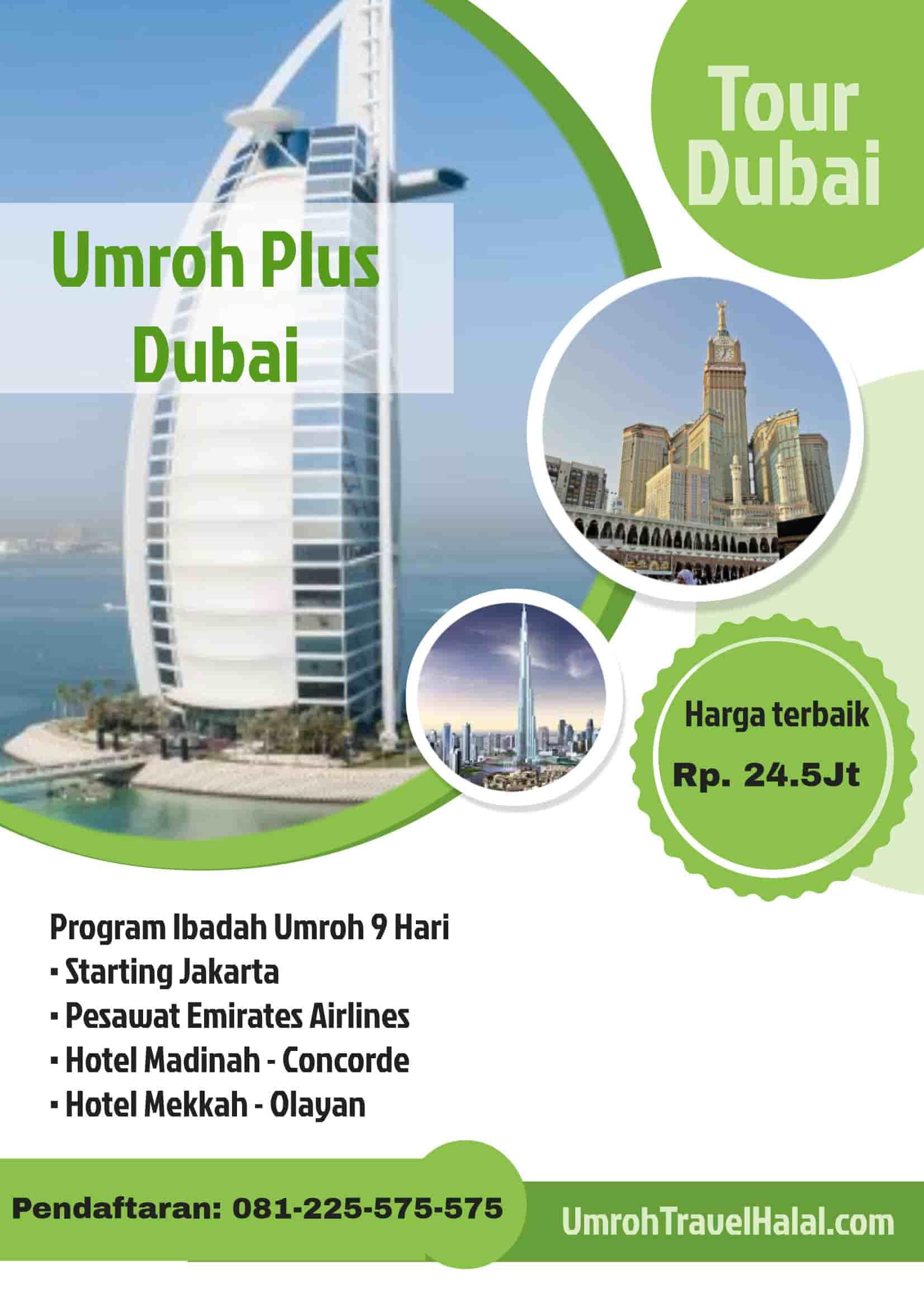 Umroh Plus Wisata Halal Dubai