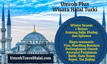 umroh wisata halal turki