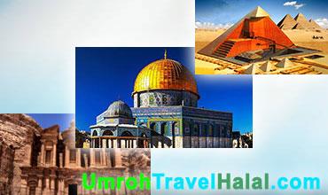 wisata halal mesir palestina yordania